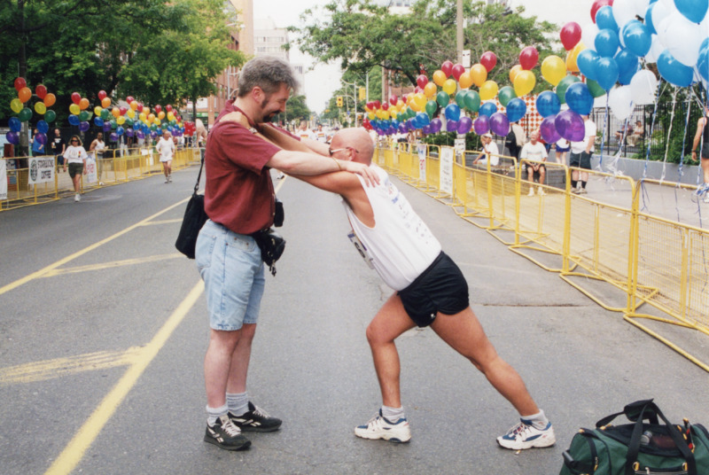 Photographs from Pride and Remembrance Run, 2000