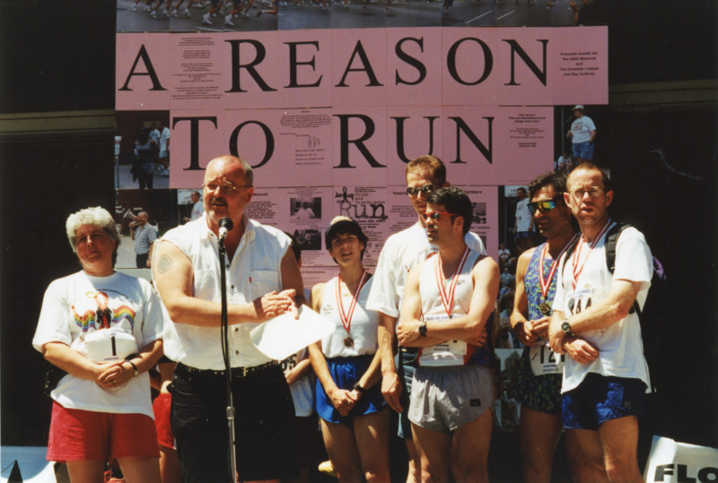 Photographs from Pride and Remembrance Run, 1997