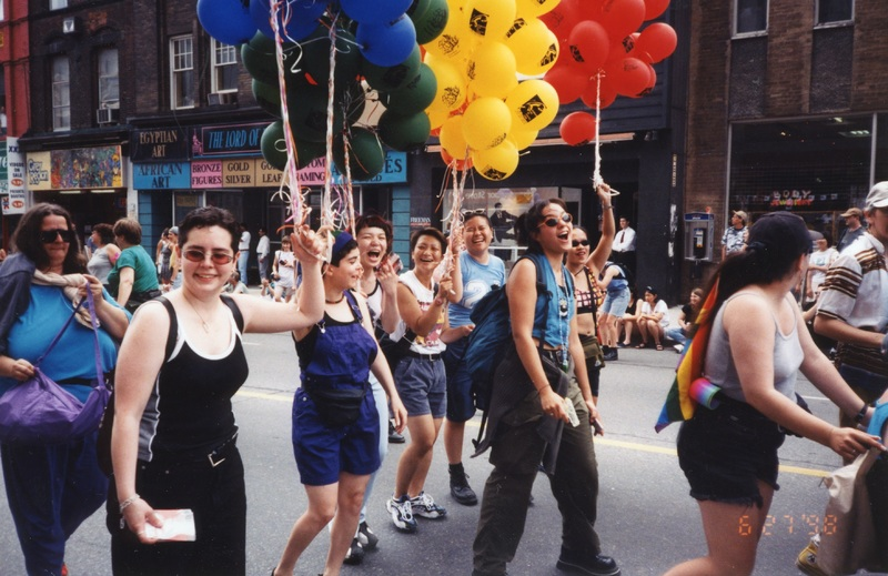 Youth Line at Pride Day 1998