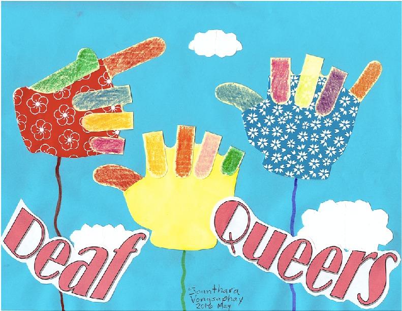 Deaf Queers zine