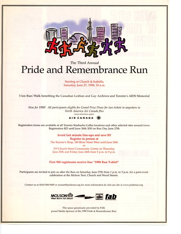 'The Third Annual Pride and Remembrance Run' (Fab)