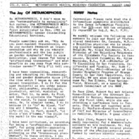 Metamorphosis vol. 2 no. 4 (Aug 1983)
