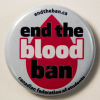 end the blood ban