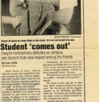 Student 'comes out' Oct 9 1992.jpg