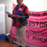 Amy Gottlieb at Lesbians Making History Launch