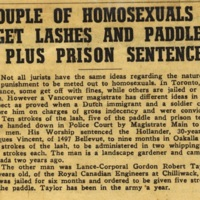 Couple of homosexuals get lashes and paddle plus prison sentences