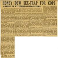 Honey dew sex-trap for cops