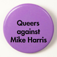 Queers against Mike Harris