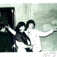 Gerald Hannon '78 drag queen and friend avoid hostile halloween hate.jpg