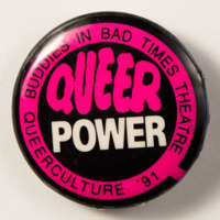Queer Power '91: Buddies In Bad Times Theatre
