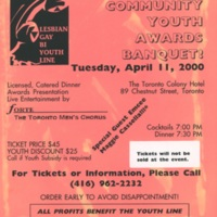 The 4th Annual Community Awards Banquet