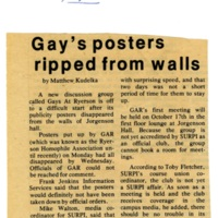 Gay's posters ripped from walls Eyeopener Oct 6 1977.jpg