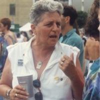 Pat Murphy at Pride Toronto, 1993.
