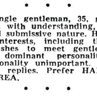 """Submissive nature"""