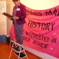 Maureen FitzGerald speaks at Lesbians Making History Launch