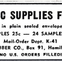 Hygienic supplies for men