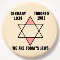 We Are Today's Jews: Germany 1939 Toronto 1981