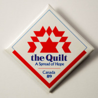 The Quilt: A Spread of Hope Canada '89