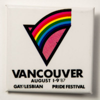 Vancouver Gay/Lesbian Pride Festival 1987