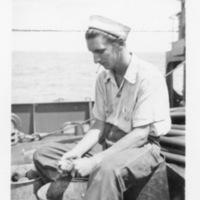 Jim Egan: Youth and Merchant Navy