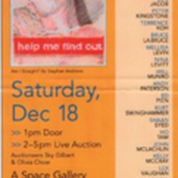 Line Art 2004 poster