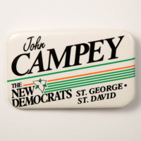 John Campey: The New Democrats St. George St. David