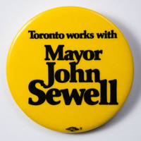 Toronto works with Mayor John Sewell