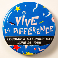 Vive La Différence: Lesbian and Gay Pride Day 1988