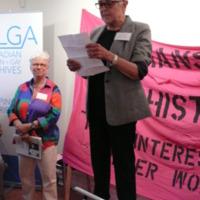 Didi Khayatt at Lesbians Making History Launch