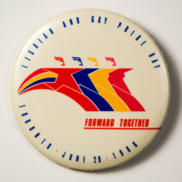 Forward together Lesbian and Gay Pride Day Toronto 1986<br />