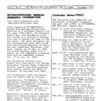 Metamorphosis vol. 1 no. 6 (Dec 1982)