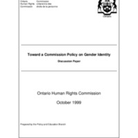 Towards a Commission Policy on Gender Identity