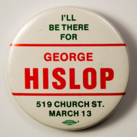 I'll be there for George Hislop