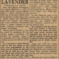 Lavender love jails partner