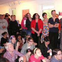 Audience at Lesbians Making History Launch