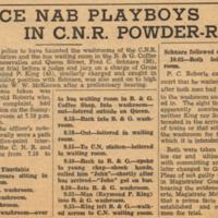 Police nab playboys in CNR powder-room