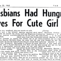 Lesbians had hungry eyes for cute girl