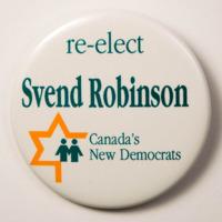 re-elect Svend Robinson