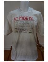 My pride is...