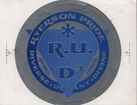 RU D3 sticker