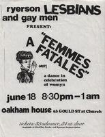 """""""FEMMES FATALES"""" a dance in celebration of womyn"""