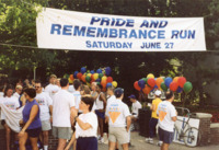 Photographs from Pride and Remembrance Run, 1998