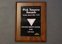 Outstanding Community Volunteer Award