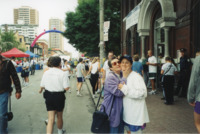 Photographs from Pride and Remembrance Run, 2001