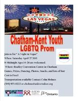 Chatham-Kent Youth LGBTQ Prom